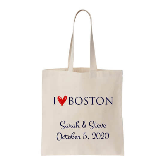 I Love [Your City] Wedding Welcome Bag