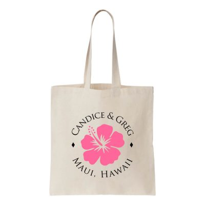Personalized Welcome Bag with Names & Location