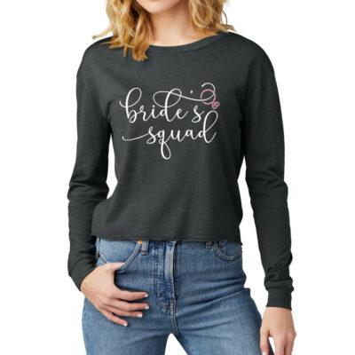"Wide Neck ""Bride's Entourage"" Shirt"