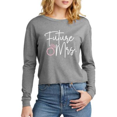 """Future Mrs."" Wide Neck Shirt"