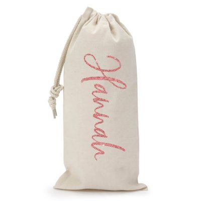 Personalized Wine Bag with Name