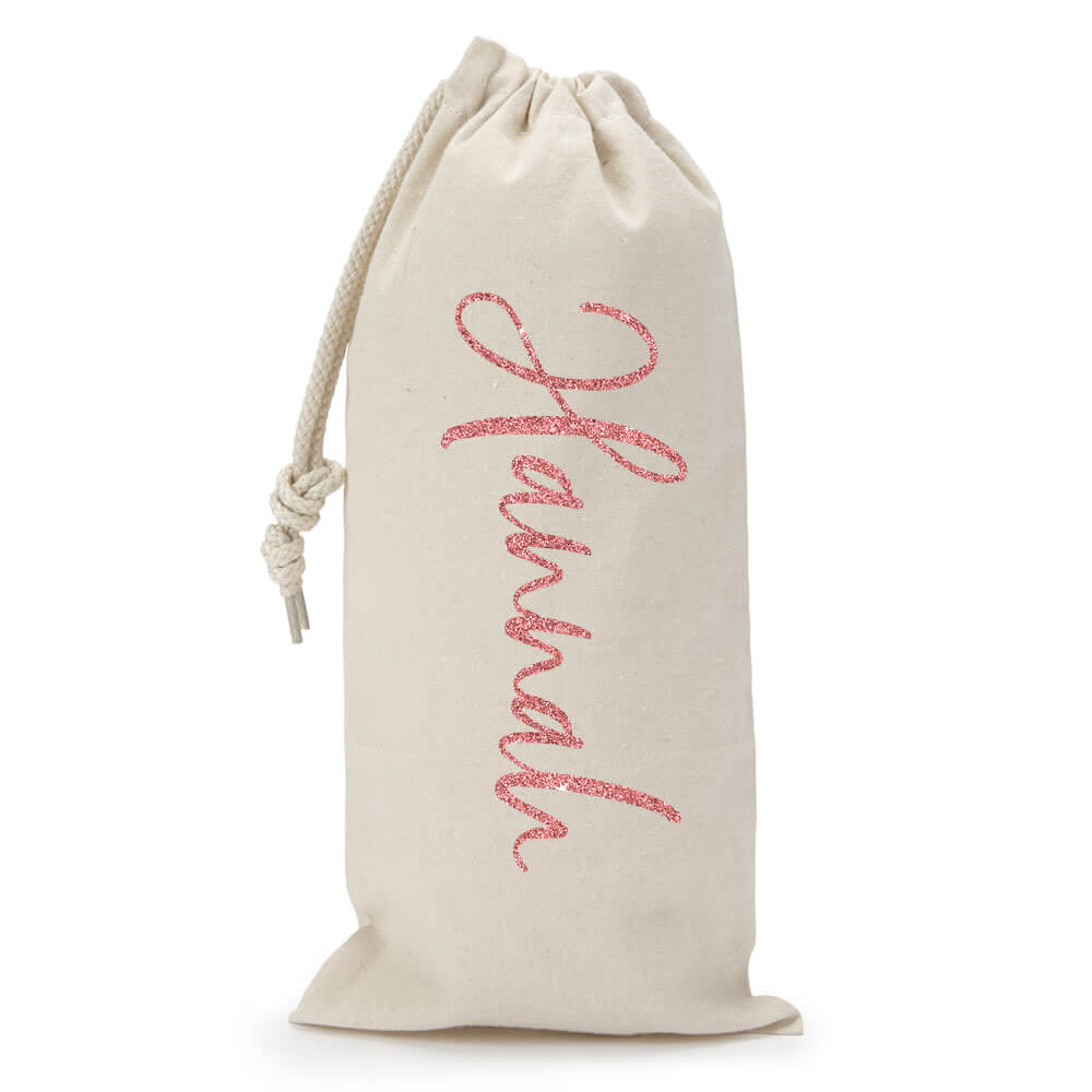 Personalized Wine Bag With Name Brides