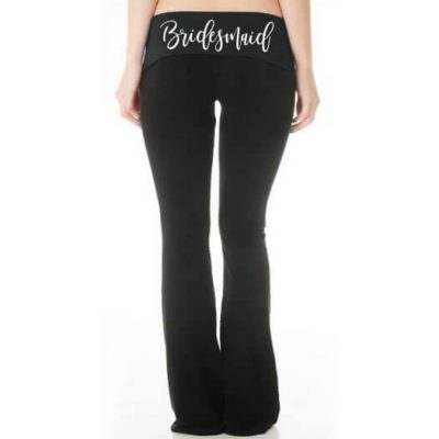 Bridal Party Yoga Pants