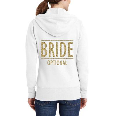 """""""BRIDE"""" Full-Zip Hoodie"""