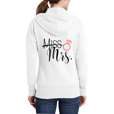 """Miss"" to ""Mrs."" Full-Zip Hoodie"
