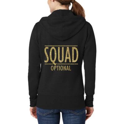 """""""SQUAD"""" Full-Zip Hoodie"""